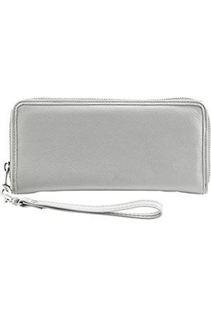 Lewis N. Clark RFID-blockierender Kartenhalter aus Leder - 7053GRY