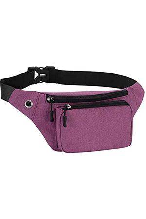 KAMO Mädchen Sporttaschen - Bauchtasche, Hüfttasche, Schulterrucksack, wasserabweisend, strapazierfähiges Polyester, klein, für den Außenbereich, leicht, Crossbody-Tagesrucksack für Damen, Herren, Damen, Mädchen