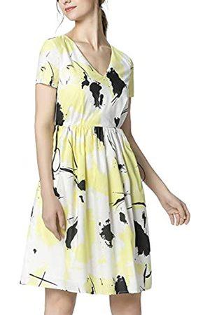 Apart APART Damen Sommerkleid mit dem Tunnelzug in Taillenhöhe