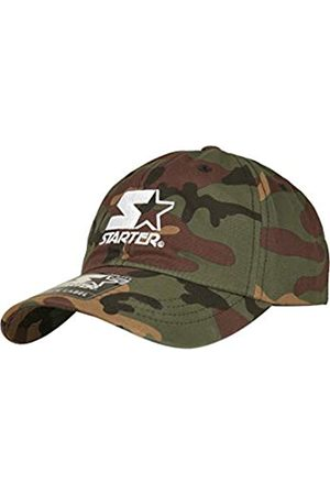STARTER BLACK LABEL Unisex Dad Cap mit Logo Stick & Messingverschluss, Camo Baseball Kappe, individuell größenverstellbar