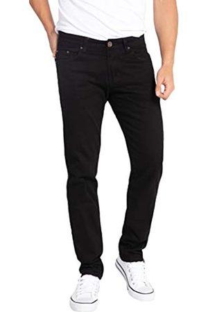 WULFUL Herren Skinny Slim fit Stretch Jeans mit geradem Schnitt 31w x 31l