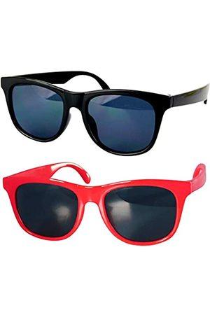 Style Vault Kd3006 Baby-Sonnenbrille, Alter 0–24 Monate, Retro-Stil, 80er Jahre, (2 Stück ( + ))