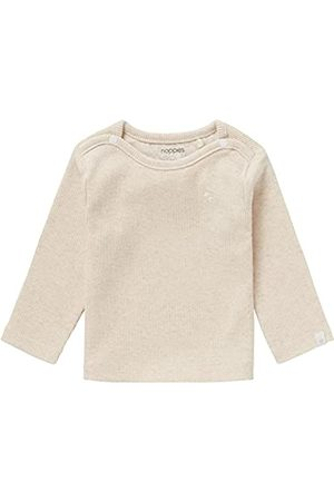 Noppies Unisex Baby U Tee ls Rib Natal T-Shirt, RAS1202 Oatmeal-P611
