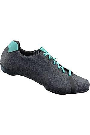Shimano 2017/18 Women's Versatile Road Cycling Shoes - SH-RT4W - Gray Melange/Mint (Gray Melange/Mint - 41)