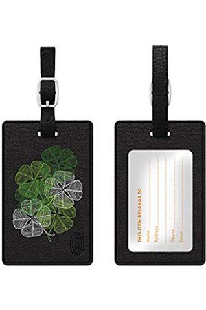 OTM Essentials Kleearten Leder Bag Tag - TAGV1BLK-LE-03