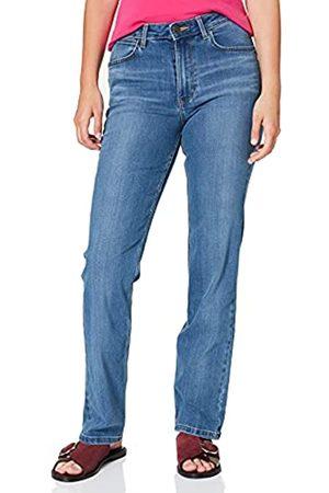 Wrangler Damen HIGH Rise Straight Jeans