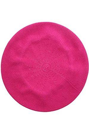 Landana Headscarves Baskenmütze für Damen, 100 % Baumwolle, einfarbig