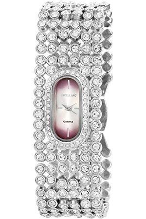 Excellanc Damen-Armbanduhr Analog Quarz Verschiedene Materialien 152023800040