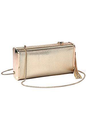 M10M15 Damen Prickelnde Abendclutch Geldbeutel-Hand In Koffer mit Metall Quaste für Partei 7,6 € * 3