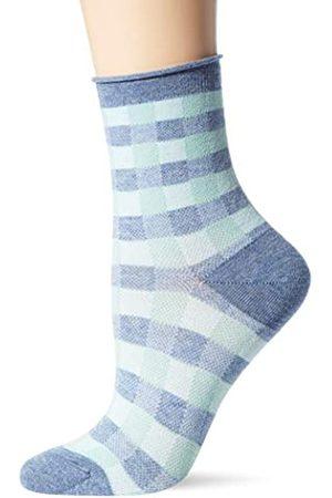 Burlington Damen Socken & Strümpfe - Damen Sporty Vichy W SSO, Melange