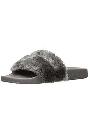 JSLIDES Women's Samantha Fashion Sneaker, Grey