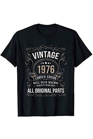 Wowsome! Vintage 1976 45th Birthday All Original Parts Men Women T-Shirt