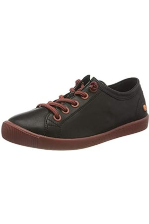 softinos Damen ISLAII557SOF Sneaker, Black