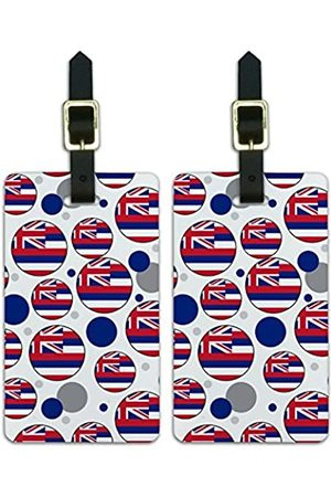 Graphics and More Graphics & More Gepäckanhänger mit Hawaii-Flagge - Luggage.Tags.09477