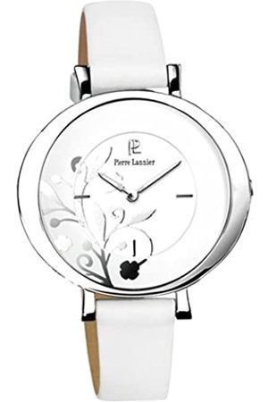Pierre Lannier Damen-Armbanduhr Analog Leder weiß 088C600