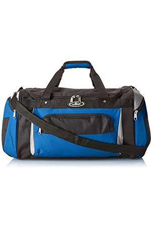 Everest Deluxe Sporttasche (Blau) - S232-RBL/LGR/BK
