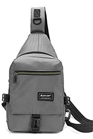 AOPUOP Sling Bag Rucksack Nylon Crossbody Bag One Shoulder Bag Chest Backpack Business Bag Travel Backpack