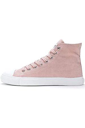 ETHLETIC Unisex Fair Trainer White Cap Hi Cut Sneaker