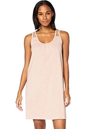 IRIS & LILLY Amazon-Marke: Damen Negligee aus Baumwolle, Pink ( Herzen), S
