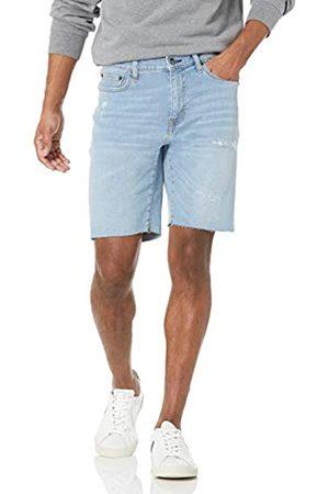"Amazon Straight-Fit 9"" Inseam Cut-Off Denim-Shorts"