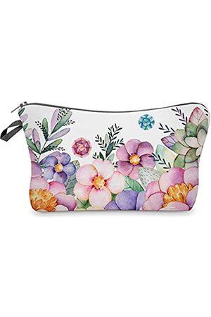 None Brand Kosmetiktasche für Frauen, wasserdicht, Reise-Make-up-Taschen, klein, tragbare Kulturbeutel, Kosmetiktasche