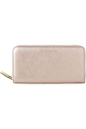 Katie Loxton Alexa Shimmer on Damen Geldbörse aus veganem Leder mit Reißverschluss - Pink
