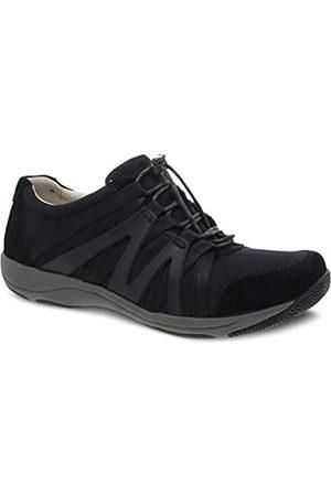 Dansko Women's Henriette Black/Black Comfort Sneaker 10.5-11 Wide US