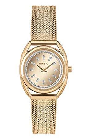 Breil Damen Analog Quarz Uhr mit Edelstahl Armband TW1896