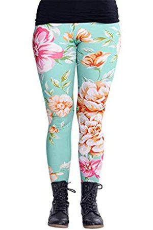 cosey Damen Bunte Bedruckte Leggings