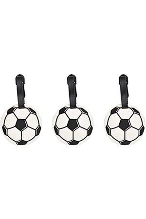 Needzo Kofferanhänger für Kofferanhänger mit Fußballmotiv, 7,6 cm