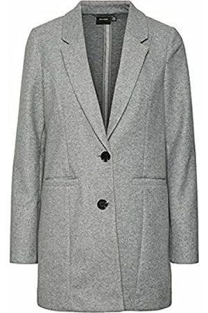 VERO MODA Female Mantel Lang XLLight Grey Melange