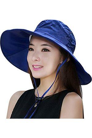 C.C-US Sommer-Regenhut für Damen, UV-Schutzfaktor 50, Sonnenschutz, breite Krempe