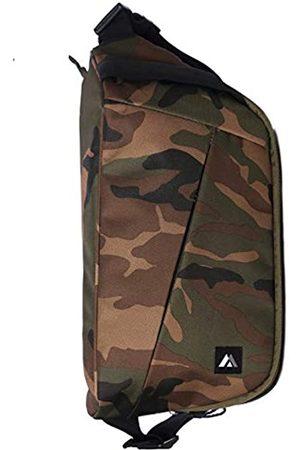 Everest Unisex-Erwachsene Woodland Camo Daily Sling-Bag, Woodlang/Camouflage