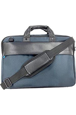 Generic Herren Laptop- & Aktentaschen - Laptoptasche 38,4 cm (15,1 Zoll), Business-Aktentasche für Damen und Herren, wasserabweisend, Kuriertasche mit Gurt, robuste Tasche für Computer/Notebook/MacBook, Blau (marineblau)