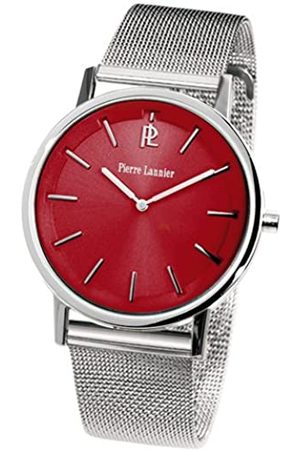 Pierre Lannier Damen-Armbanduhr Analog Edelstahl Silber 072G658