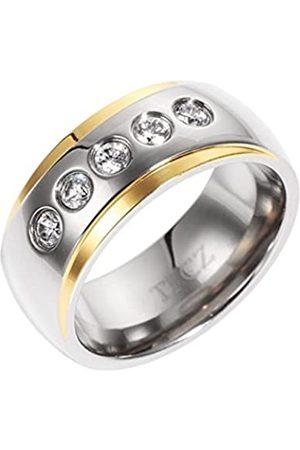 Renato Fellini Damen-Ring Titan Zirkonia weiß Rundschliff Gr. 63 (20.1) - HEJTI-Y-9013 20