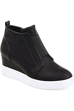 Journee Collection Clara Damen-Sneaker, Keilabsatz