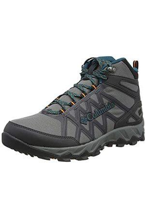 Columbia Damen Peakfreak X2 Mid Outdry Walking-Schuh, Ti Grey Steel, Deep Wave