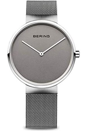 Bering Damen Analog Quarz Classic Collection Armbanduhr mit Edelstahl Armband und Saphirglas 14531-077