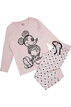 Disney Damen Mickey Mouse Art Sketch Pyjama Set Pyjamaset