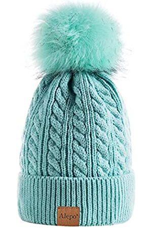 Alepo Damen Wintermütze, warm mit Fleece gefüttert, gestrickt, weich