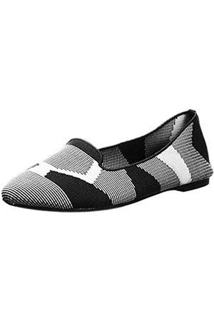 Skechers Damen Cleo-Sherlock-Engineered Knit Loafer Skimmer Ballett Flach, ( / )