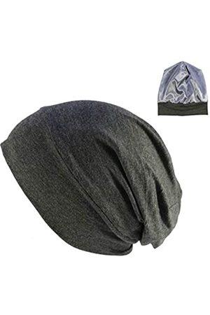 DABERVICH Schlafmütze mit Satin-Seide für krauses Haar für Frauen