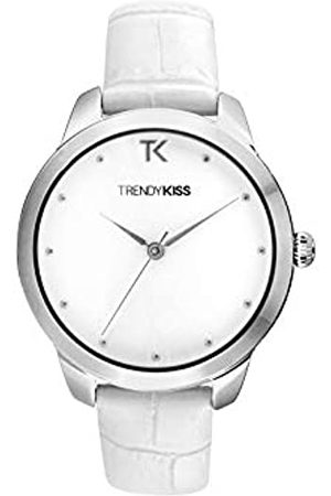 Trendy Kiss Damen Analog Quarz Uhr mit Leder Armband TC10140-01