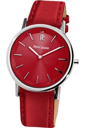 Pierre Lannier Damen-Armbanduhr Analog Leder 156H655