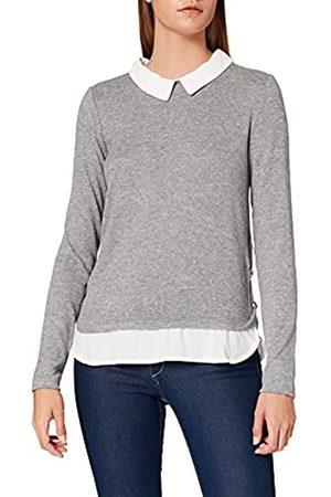 Springfield Damen Camiseta Cuello Bimateria Unterhemd