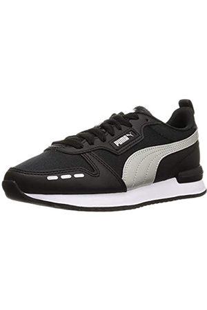 PUMA Damen R78 WMN S METALLIC FS Sneaker, Black Silver