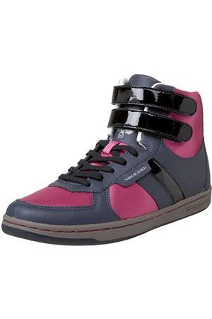 Creative Recreation Women's Dicoco High-Top Sneaker,Black/Navy/Fuchsia/Gunmetal