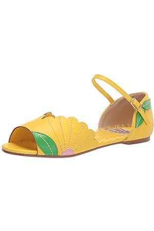 Bettie Page Damen Sandalen - Damen BP100-MOLLY Flache Sandale