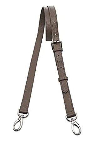 Kolti Universeller Ersatz-Schultergurt, verstellbar, echtes Leder, mit drehbaren Metallhaken für Crossbody-Börse, Aktentaschen, Kuriertasche, Umhängetasche